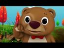 Wheels On The Bus Детские песенки на английском. С титрами. Учите английский вместе с ребенком.
