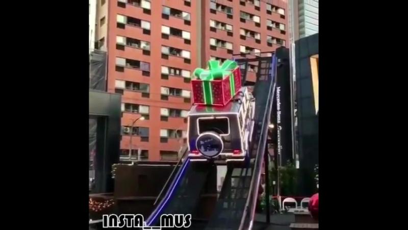 Санта-Клаус на Гелике ❄️☃️🎅
