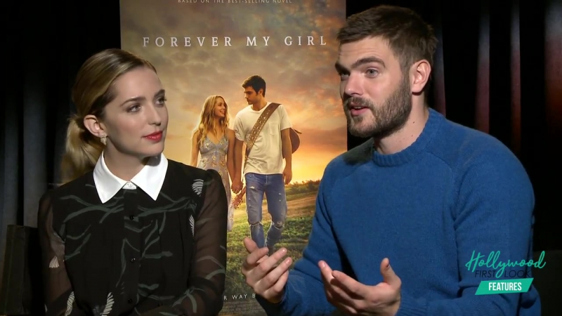JESSICA ROTHE ALEX ROE talk about PARENTHOOD their characters in FOREVER MY GIRL