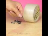 8 оригинальных советов по использованию скотч-ленты 💡