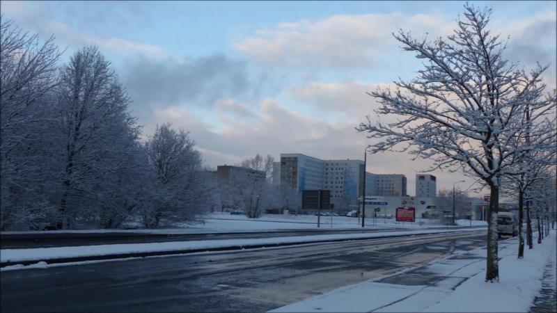 Winter Foto Skizze Hoyerswerda 26 12 2014