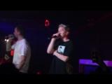 Концерт группы Хлеб в клубе Кристалл и интервью о предстоящих концертах.