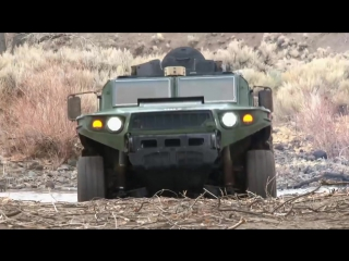 TARDEC - Ultra Light Vehicle (ULV) Исследование Prototype Advanced Testing Phase [1080p]