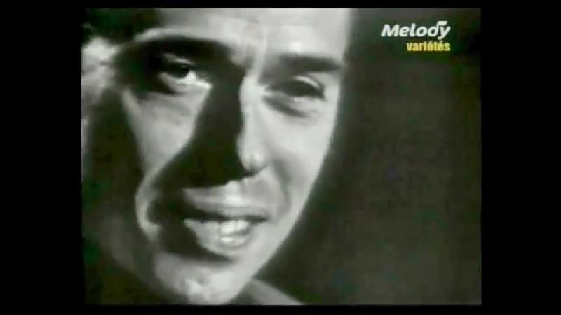 Jacques Brel interprète à Lyon - FERNAND (1966)