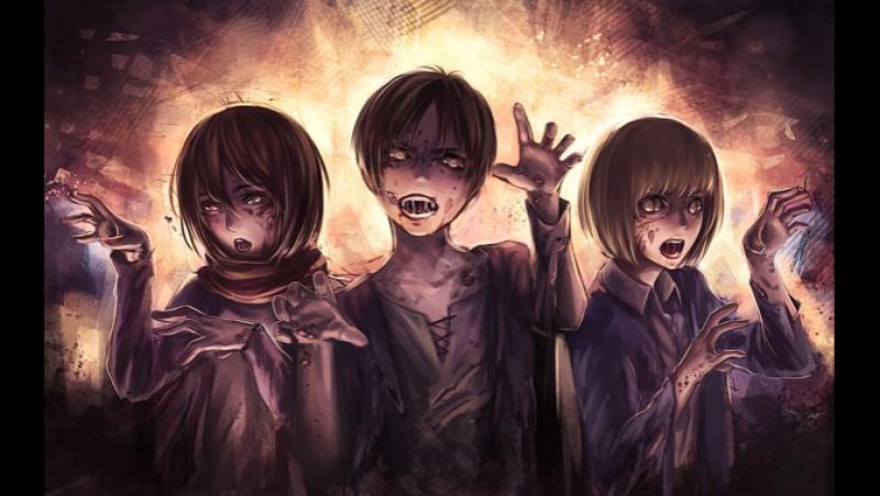 Атака на Титанов: Потерянные девушки / Shingeki no Kyojin: Lost Girls