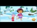 Даша путешественница Игра Танцы на Льду с Дашей