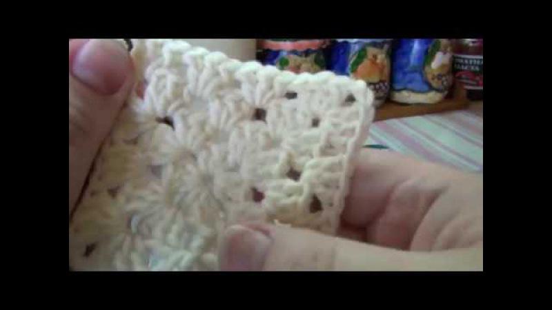 Бабушкин квадрат для новичков крючком