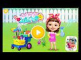 Fun Baby Clean Messy House -Kids Learn Colors, Makeover Game-Sweet Baby Girl Clean Up5 By Tuto Toons