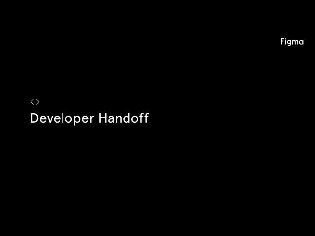 Figma Tutorial Developer Handoff