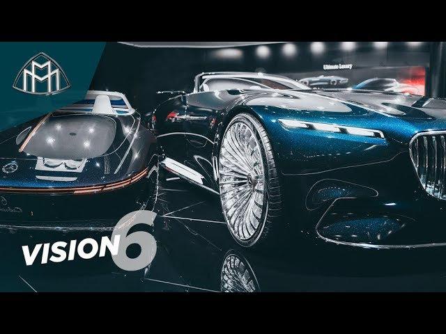 Самый СУМАСШЕДШИЙ Mercedes в истории?! Maybach Vision 6 - обзор нереального Benz'а! Тест-драйв ...
