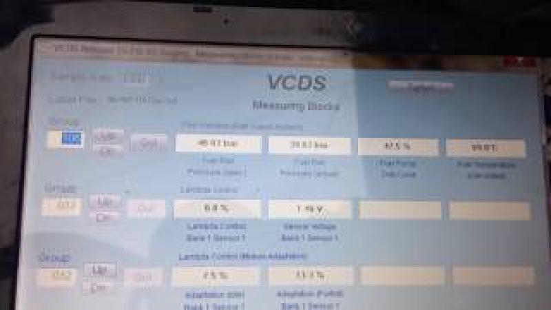 Замена ТНВД 1.8 CDAB Octavia A5 диагностика VCDS