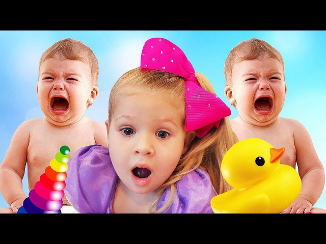 Сrying baby dolls, Are you sleeping song nursery rhymes Songs for kids by learn colors with