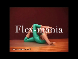 Gymnastic stretch  flexibility really  post flex contortion  people flexilady  model