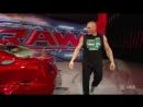 WWE Brock Lesnar destroys J J Security's prized Cadillac Raw July 6 2015
