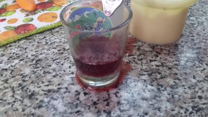 Вино Изабелла Дары Абхазии - тест на Суррогат №2