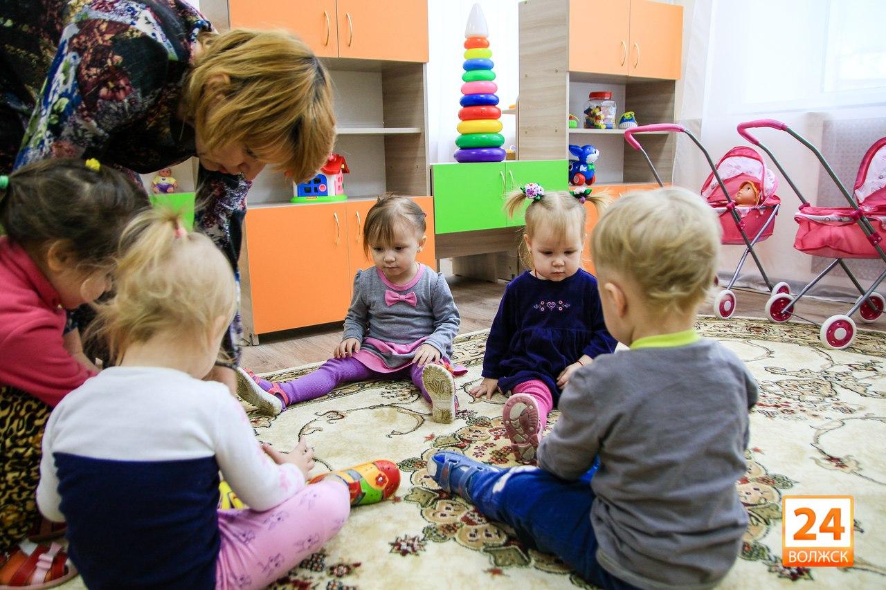 В Волжске открыли две новые группы в детских садах.