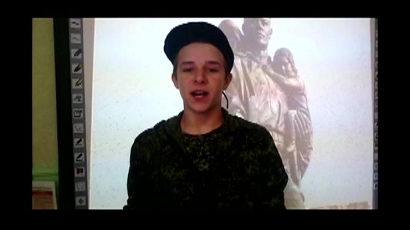 Трифилов Данил. МОУ№104 г. Донецк ДНР Живая классика