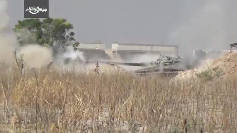 Сирия.05-10-2017.Боевики Джейш аль Ислам в уличных боях в восточной Гуте