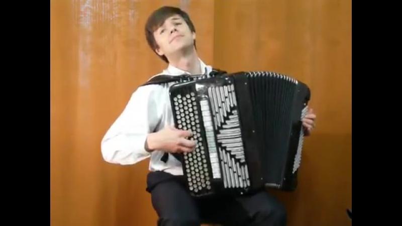 В.Черников - Вальс- V.Chernikov - Waltz-Sergey Neverov (bayan) (2)