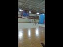 08.04.18 с мячом гимнастка с Краснодара