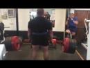 Бенедикт Магнуссон, тяга 350 кг на 6 раз