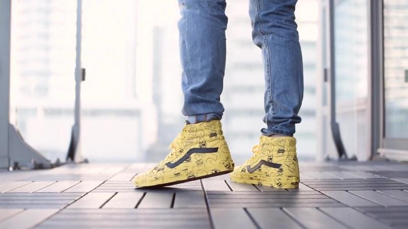 Review On-Feet- Vans x Peanuts SK8-Hi Reissue Charlie Brown