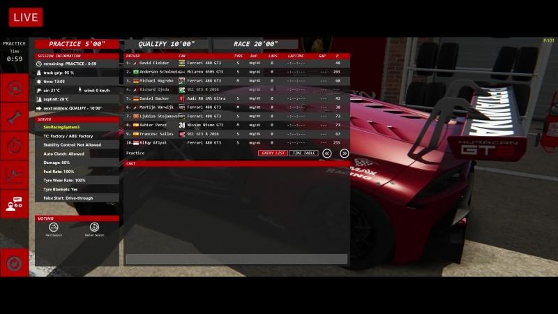 VK LIVE SRS Nurburgring @ Lamborghini Huracan ST - LIVE ONBOARD