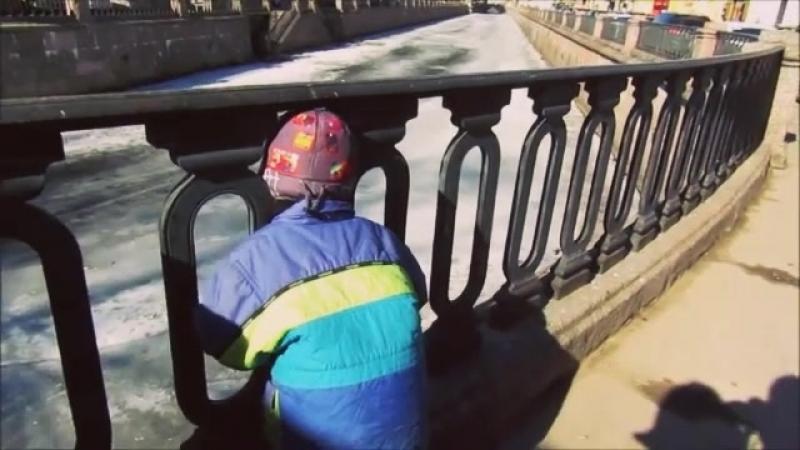 Моё видео на фрагмент песни Ирины Богушевской У нас в раю. Санкт-Петербург. Апрель 2018г.