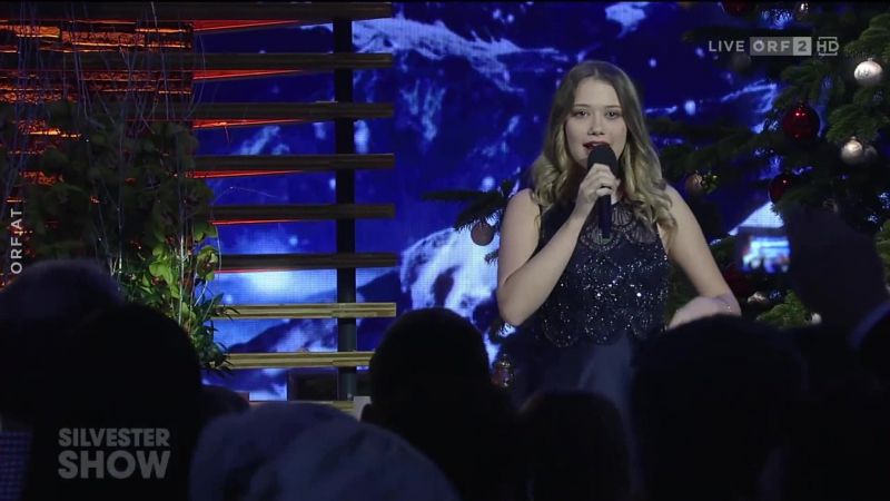 Laura Kamhuber I will always love you Silvestershow mit Jörg Pilawa 2017
