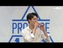 PRODUCE 101 season2 아이원ㅣЮ Хоёнㅣ 너에게선 커피향이 나 @자기소개_1분 PR 161212 EP.0