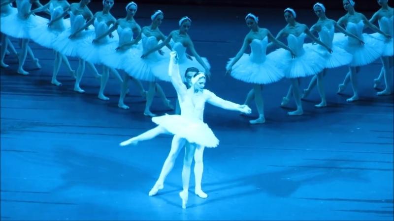 Алена Ковалева в балете Лебединое озеро Большой театр VK урокиХореографии