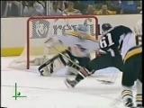 Max Afinogenov being Pavel Bure in game 6 against Penguins (2001) / Афиногенов пулей выскакивает со скамейки штрафников!
