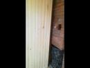 Отделка бани 5х5 парилка и моечная отделана вагонкой осина предбанник имитация бруса сосна