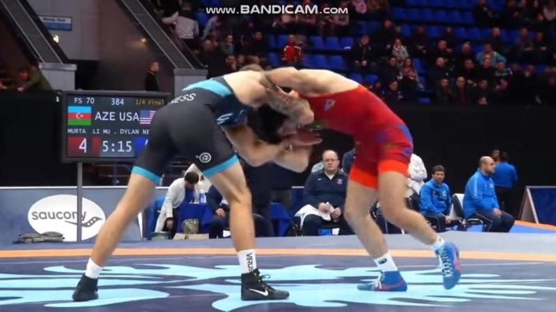 Киевский 2018, 1/4 final - Murtuz Müslümov - Dylan Ness (USA) (10:0)