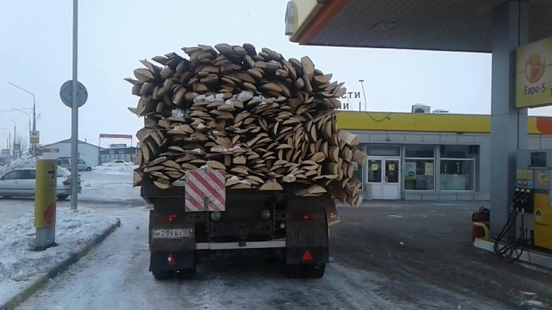КамАЗ горбыля - от 6000 до 7000 рублей