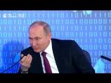Путин предложил новую версию анекдота про тракториста