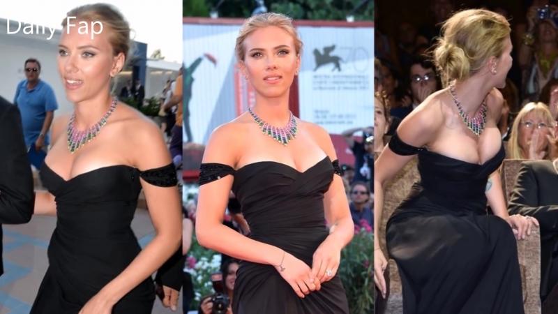 Актриса Скарлетт Йоханссон (Scarlett Johansson) - Fap Tribute HD (февраль 2018)