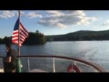 Прогулка на корабле по озеру Lake George