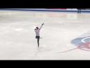 Satoko Miyahara practice Worlds-2018 Milano