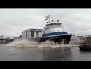 Самые зрелищные неуправляемые спуски кораблей на воду - часть 1