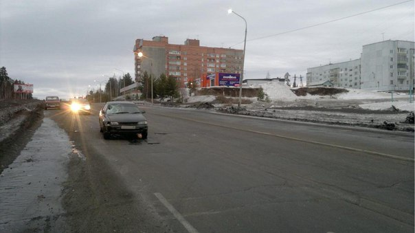 В Усть-Илимске 19-летний водитель «Тойоты» наехал на пешехода