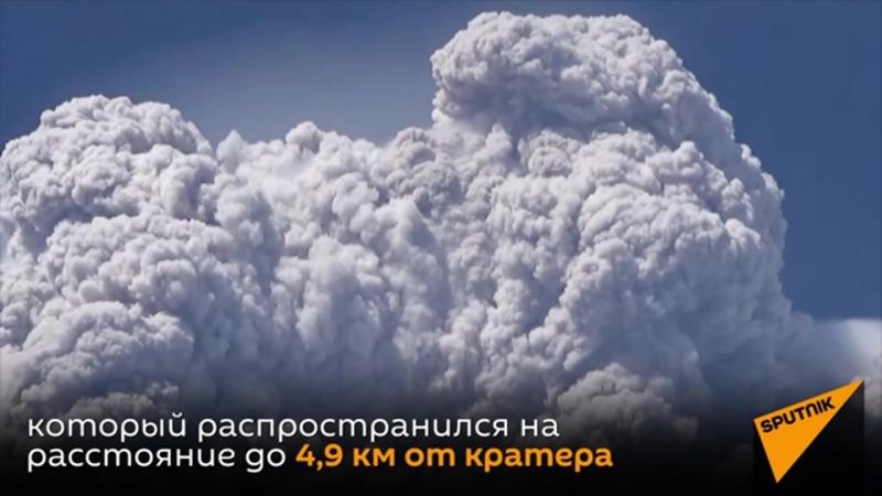 Мощное извержение вулкана в Индонезии положило конец его 400 летнему сну