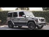 Mercedes-Benz G55 AMG Black Matte Beast