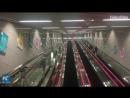 94 метра под землей! Китай строит самую глубокую станцию метро в стране