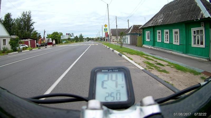 г. Карачев, бревет 400 км.