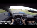 JDM_Family - Тест Subaru Impreza WRX STI, Лаунч0-100 Тормозной путь100-0