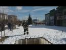использование ранцевого устройства пожаротушения