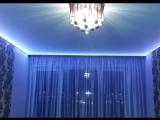 Подсветка потолка светодиодной лентой, с отступом. https://vk.com/okna47dveri 8 (81365) 2-03-98; 8-962-696-08-55. г. Подпорожье