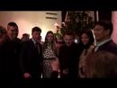 Jeremy Renner, Elizabeth Olsen, Taylor Sheridan and others at Wind River cocktail party, 02.12.2017