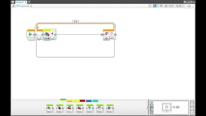 Программирование в Lego Mindstorms EV3. Урок 8- Блок Цикл
